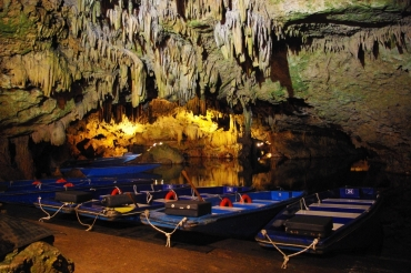The Caves Of Vlyxada or Glyfada